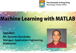 Machine Learning with MATLAB by Mr. Gerardo Hernández
