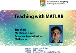 Teaching with MATLAB by Mr. Stefano Olivieri