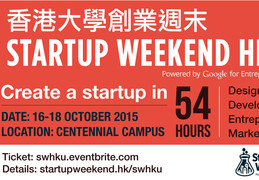 Create a Startup in Startup Weekend HKU