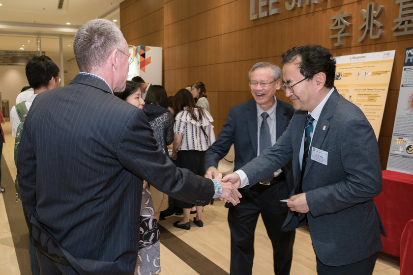25 HKU start-up companies receive funding from TSSSU@HKU and iDendron Incubation Programme launches gallery photo 9