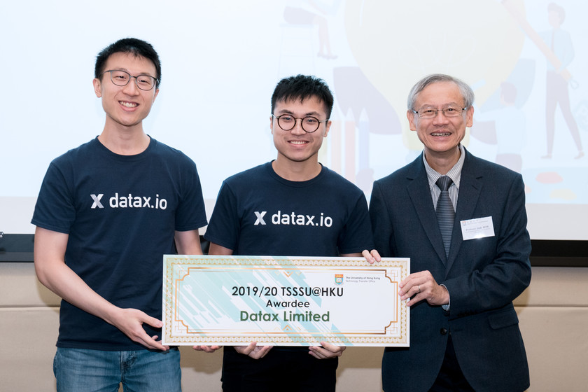 25 HKU start-up companies receive funding from TSSSU@HKU and iDendron Incubation Programme launches gallery photo 18
