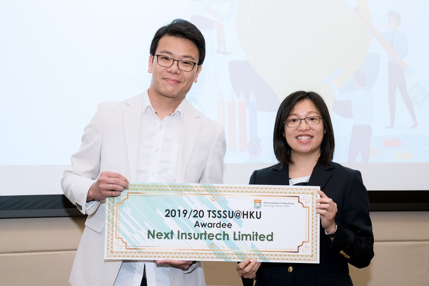 25 HKU start-up companies receive funding from TSSSU@HKU and iDendron Incubation Programme launches gallery photo 27