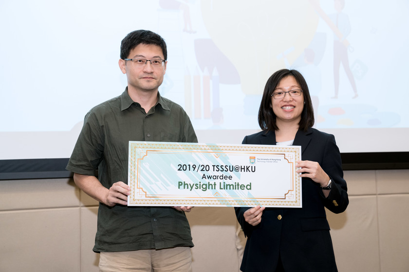25 HKU start-up companies receive funding from TSSSU@HKU and iDendron Incubation Programme launches gallery photo 30