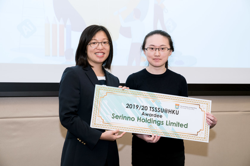25 HKU start-up companies receive funding from TSSSU@HKU and iDendron Incubation Programme launches gallery photo 33