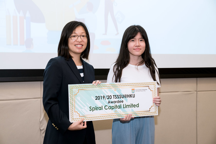 25 HKU start-up companies receive funding from TSSSU@HKU and iDendron Incubation Programme launches gallery photo 34