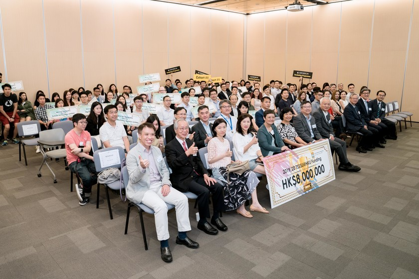 25 HKU start-up companies receive funding from TSSSU@HKU and iDendron Incubation Programme launches gallery photo 41