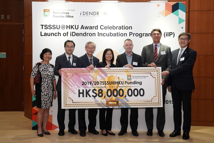 25 HKU start-up companies receive funding from TSSSU@HKU and iDendron Incubation Programme launches gallery photo 1