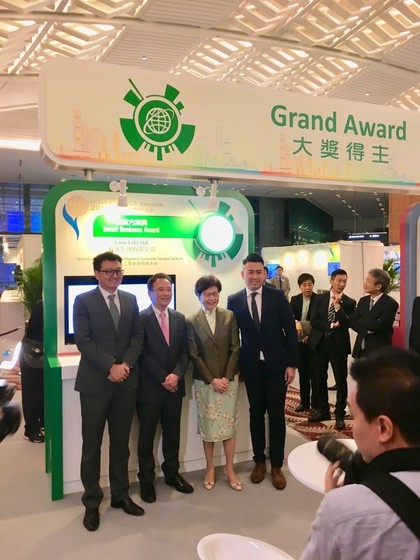 HKU EEE AI Startup Fano Labs Receives Grand Award of HK ICT Awards 2018 gallery photo 1