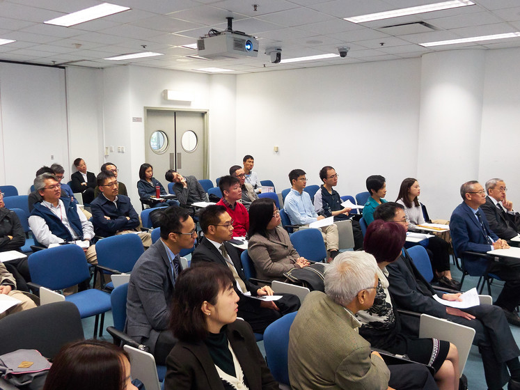 Internal workshop: Blossom innovations: my experience in translational medicine by Prof Henry HL CHAN on 24 November, 2017 gallery photo 2
