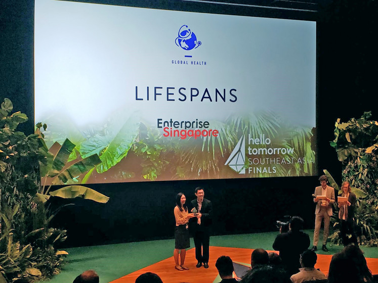 HKU start-up wins top prize at Inaugural Hello Tomorrow Singapore Regional Summit gallery photo 3